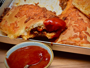 Bolognese Calzone Sticks