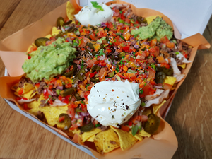 Pizza Box Nachos